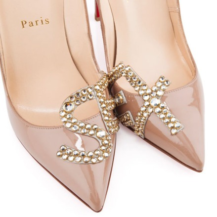 Christian Louboutin Patent Leather 'Sex' Pigalle 120