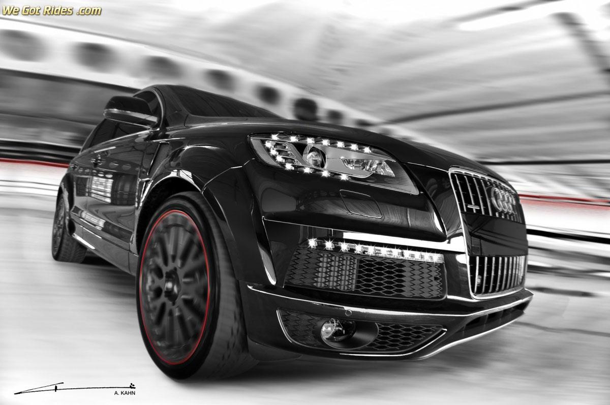 Audi Q7 Blacked Out